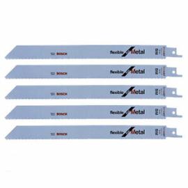 Bosch S 1122 EF Reciprozaagblad -225 x 18TPI - Metaal (5st)  2608656020