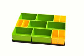 Tanos Festool bakjes set voor Lade SYS-AZ Model 6
