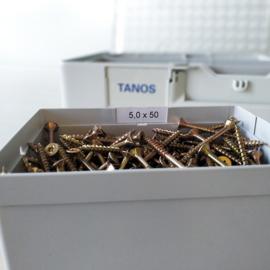 Tanos Etikettenset voor Systainer³ Organizer-inzetbakken 83500052
