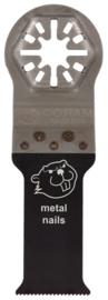Coram QuickFit zaagblad 28x63mm Uni Bi-metaal 3 stuks QUB028003