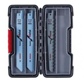 Bosch Reciprozaagbladen Hout en metaal 15 Delig ToughBox