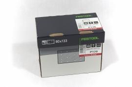 Festool Schuurstroken STF 80x133 P120 GR25 497120
