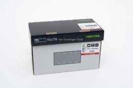 Festool Schuurstroken Granat STF 93X178 P240 GR/25 498940