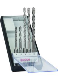 Bosch SDS-Plus 5 delige Robust Line Hamerborenset 2608585073