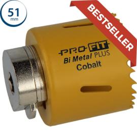 ProFit HSS Bi-metaal Plus gatzaag 51 mm 09041051