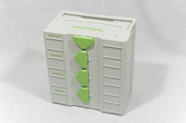 4x Festool MINI-SYSTAINER SYS-MINI TL 499622