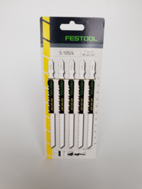 Festool S 105/4/5 Decoupeerzaagblad Hout 486547