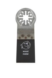 Coram QuickFit zaagblad 35x51mm Bi-metaal 3 stuks  QUB035003