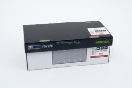 Festool Schuurstroken Granat STF 115X228 P40 GR/50 498944
