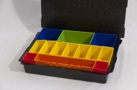Festool tanos gekleurde bakjes set