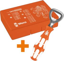 Wera Bit-Safe 61 Universeel 3 + Flessenopener OP=OP 05246000001