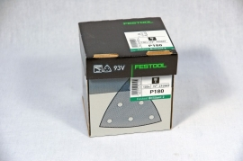 Festool schuurbladen STF V93/6 P180 BR2/25 492889