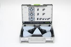 AKTIE SET Festool Granat schuurpapier DTS/DS400 in Systainer³