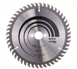 Bosch Cirkelzaagblad 160 x 20 x 48T Optiline Wood 2608640732