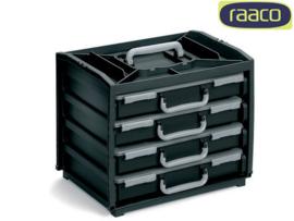 Raaco Handy Box met 4 dozen Opbergbox