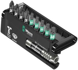 Wera Bit-Check Impaktor 4  Diamond  PZ/TX 10-delig 05057417001