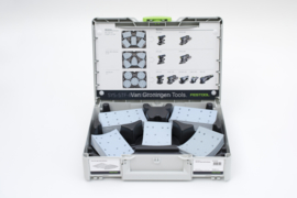 AKTIE SET Festool Granat schuurpapier RTS/RS400 in Systainer³