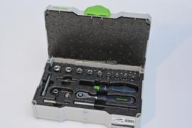 Festool ratel set doppen set  ¼ CE-RA-Set 37 497881