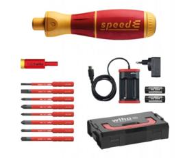 Wiha E-schroevendraaier set 2 speedE® electric 13-delig  41912