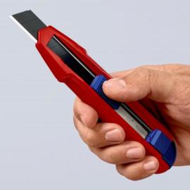 Knipex 90 10 165 BK Universeel mes CutiX