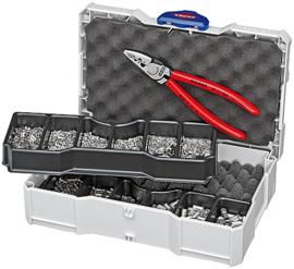 Knipex Krimp-assortimenten voor adereindhulzen 97 90 05