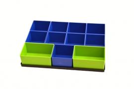 Tanos Festool bakjes set voor Lade SYS-AZ Model 3