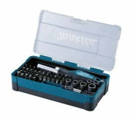 Makita Doppenset + Bit set 47-delig B-36170
