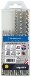 Alpen SDS-Plus boren kassette F8 4 snijders 0080600005100