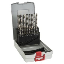 Bosch Metaalboren HSS-G 1-10 mm 19 Stuks  2608587013