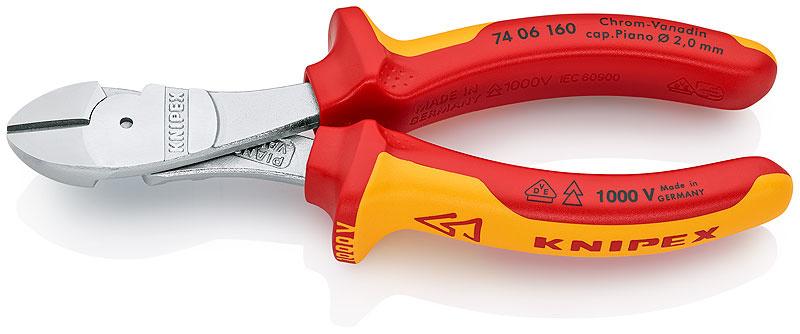 Knipex Kracht-zijsnijtang 74 06 160