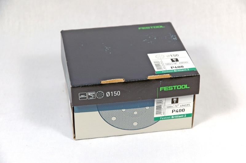Festool Schuurschijven STF D150/16 P400 BR2/25 496595