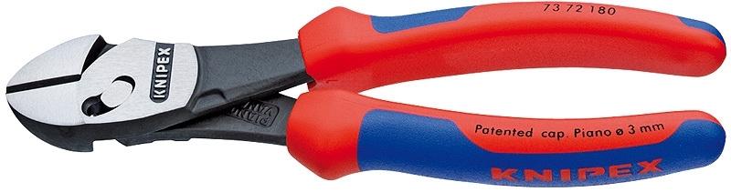 Knipex TwinForce Hoogwaardige zijsnijtangen 73 72 180