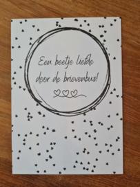 Kaart Liefde in de brievenbus