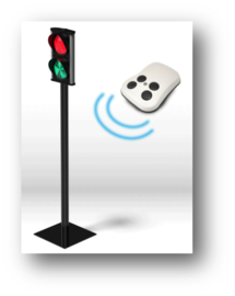 SIDTraffic verkeerslicht met afstandsbediening