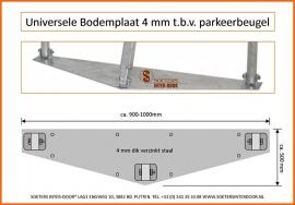 Parkeerbeugel Montageplaat Universeel
