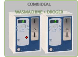 Combideal  Wasmachine en Droger