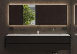 Dublin 800 x 700 mm, indirecte verlichting rondom