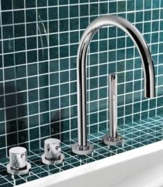 Hotbath Laddy 063,thermostatische badrand combinatie, B063CR