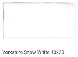 La Porta Yorkshire Snow White 10x20, Prijs € 59,= pm2