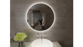 Giro ronde spiegel + Led 600mm