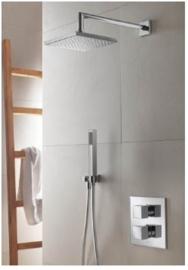 Hotbath IBS 4a GN, Complete thermostatische InBouwSet (Chap), IBSa4GN