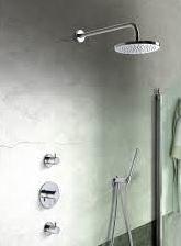 Hotbath IBS 2 R GN, Complete thermostatische InBouwSet (Buddy), IBS2R