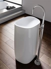 Hotbath B078W-GN Wastafelmengkraan zonder waste, Buddy078W-GN