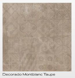 Cristacer Montblanc decorado Taupe 60 x 60 aanbieding voor € 29.95 pm2 Prijs per verpakking