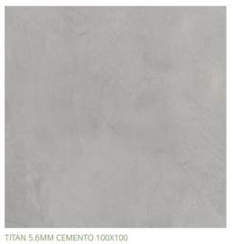 Grespania Titan Cemento 100 x 100 cm, 5.6mm dik