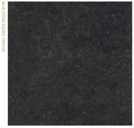 Grespania Blue stone Negro 100 x 100 cm, 5.6mm dik