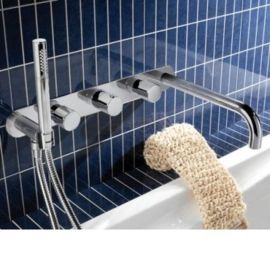 HotbathBuddy 062, Inbouw bad thermostaat met uitloop, Buddy062CR