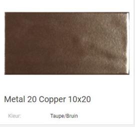 Metal 20 Copper 10 x 20 Prijs € 92,= pm2