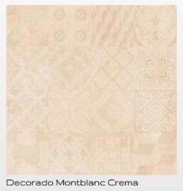 Cristacer Montblanc decorado Crema 60 x 60 aanbieding voor € 29,95 pm2 Prijs per verpakking