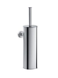 Hotbath Cobber WC-borstelgarnituur wandmodel CBA11BL Mat zwart of in een andere kleur prijsgroep 2